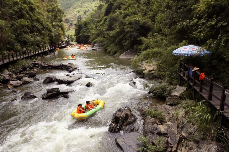 【特价】广州响水峡生态漂流门票/响水峡生态度假区旅游套票