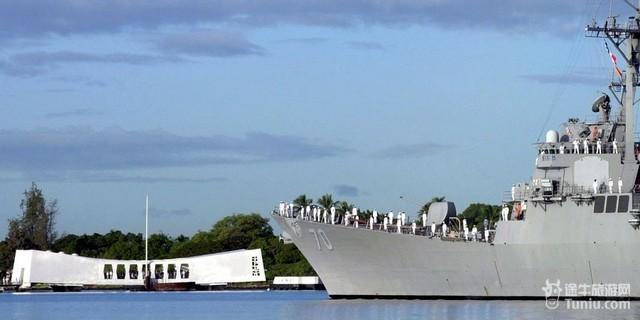 珍珠港位于美国夏威夷州欧胡岛上的海港,位于该州首府檀香山西方.