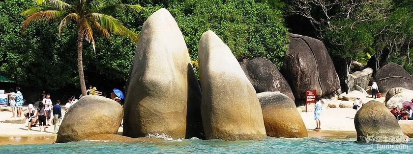 海南三亚天涯海角_三亚风景图片_三亚旅游景点图片