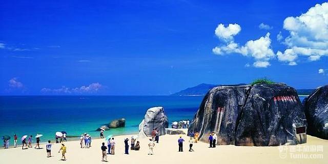 天涯海角;; 海南三亚旅游景点天涯海角的传说;  &