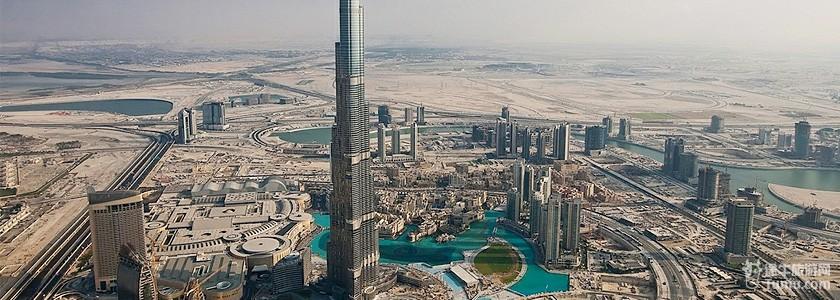 迪拜购物中心里面