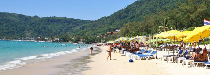 普吉岛芭东海滩patong