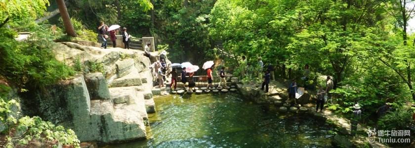 安徽天池风景图片