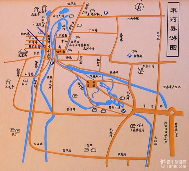 丽江旅游各类地图汇总