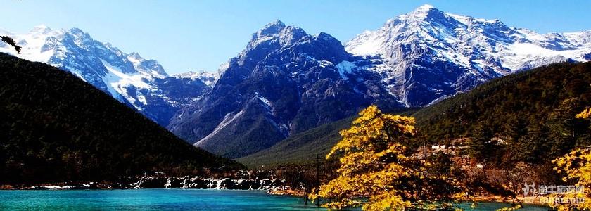 玉柱擎天风景区位于玉龙雪山主峰南麓
