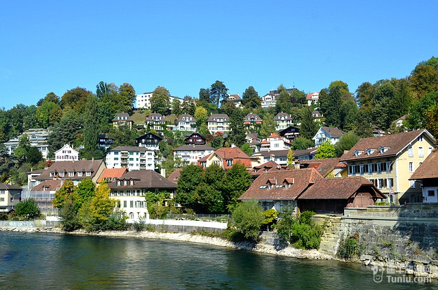 瑞士伯尔尼老城区