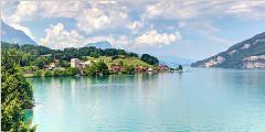 瑞士图恩湖