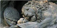 瑞士狮子纪念碑