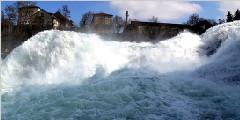 瑞士莱茵瀑布