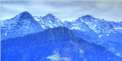 瑞士少女峰