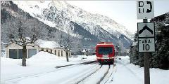 瑞士勃朗峰快车