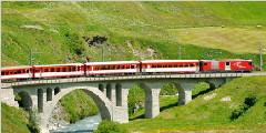 瑞士冰川快车