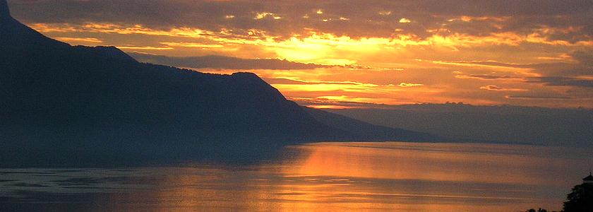 瑞士莱芒湖(日内瓦湖)