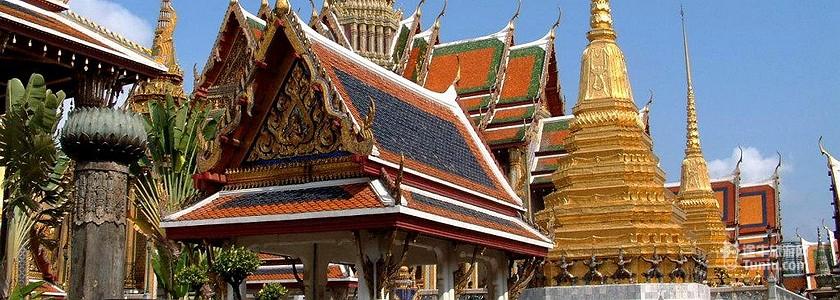 泰国佛教塔元素