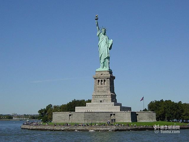 美国自由女神像statue of liberty