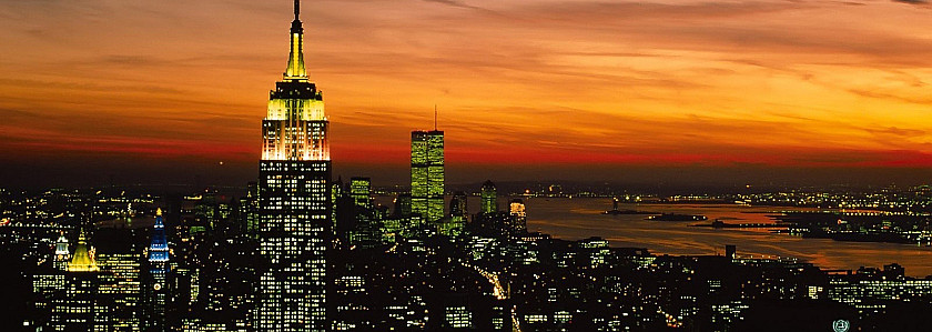纽约世界贸易中心双子塔