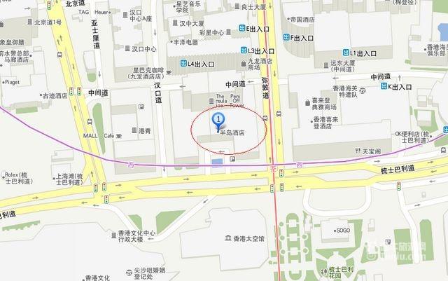 香港半岛酒店the peninsula hong kong