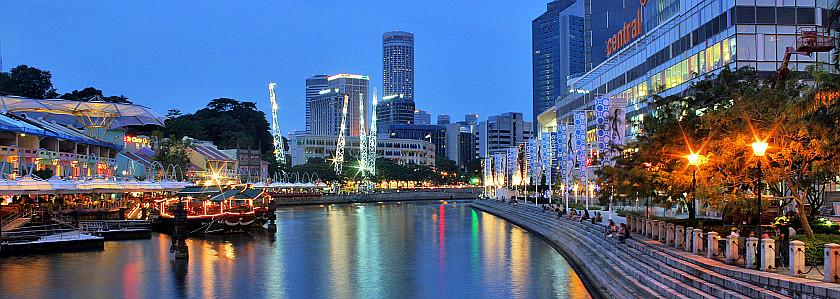 新加坡景点-克拉码头