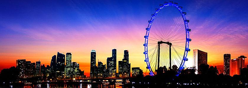 新加坡摩天观景轮_新加坡旅游景点