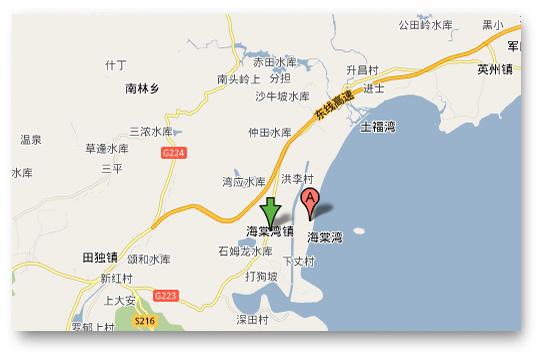 三亚猴岛在三亚地图