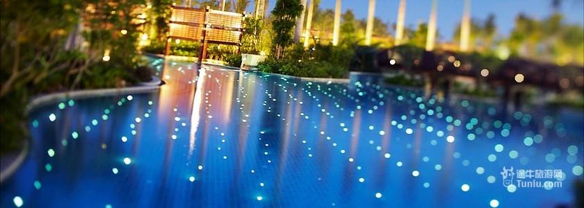 景观:海景 交通 三亚凤凰国际机场—三亚万丽度假酒店 酒店方