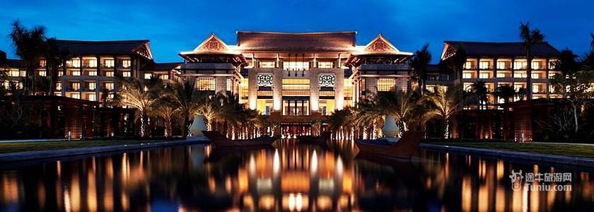 景观:海景 交通 三亚凤凰国际机场—三亚万丽度假酒店 酒店方向