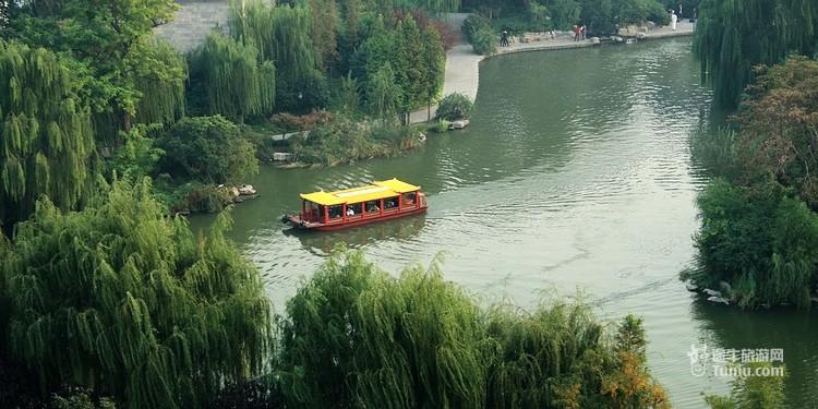 山东济南大明湖风景名胜区
