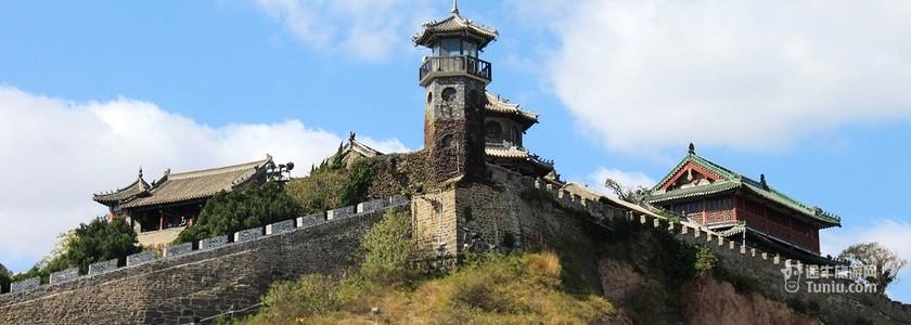 山东蓬莱阁景区