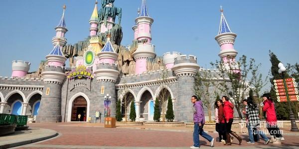 芜湖方特梦幻王国卡通城堡